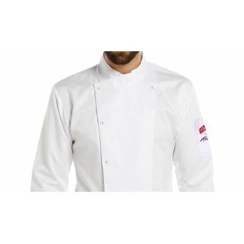 Şef Aşçı Ceketi T Yaka Beyaz