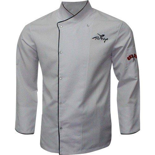Gri Üniforma Aşçı Ceketi