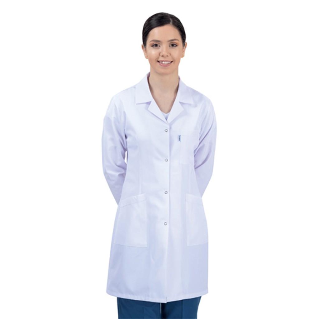 Öğretmen - Doktor Önlüğü Bayan Beyaz
