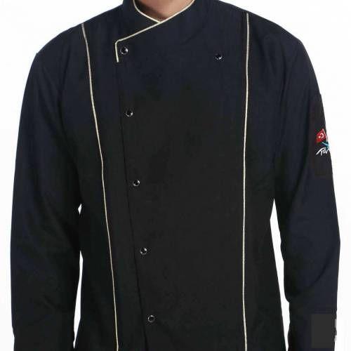 Siyah Şef Aşçı Ceketi