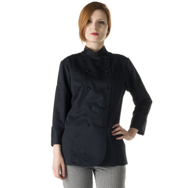 Bayan Siyah Aşçı Kıyafeti