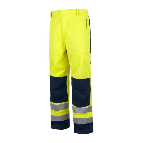 Reflektörlü Cepli İş Pantolonu
