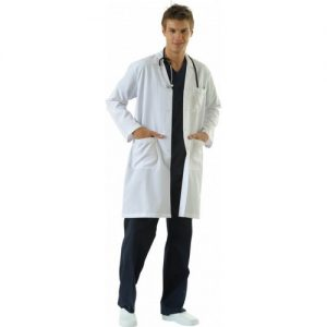 Tipmod Hemşire Önlüğü Erkek 105 Uzun Boy Ceket Yaka Önlük